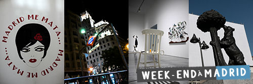 Grand week-end à Madrid